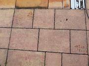 Betonplatten Terracotta