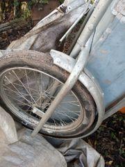 Kastenanhänger für Fahrrad oder Mofa