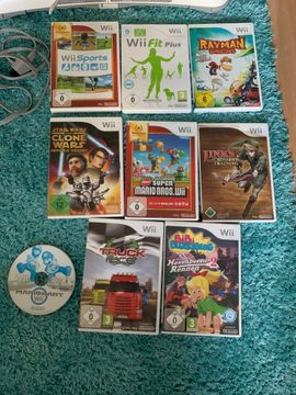 Wii - Wii mini mit 9 Spiele