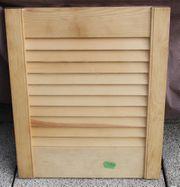 Lamellentüre Holz Tür