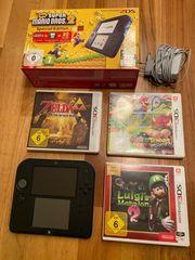 Nintendo 2DS - inkl 4Spiele
