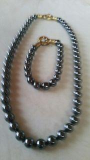 Perlenketten mit Armband inklusiveVersandkosten