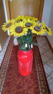 Bodenvase incl Sonnenblumen