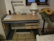 Schreibtisch Moll Rollcontainer Drehstuhl Mobilight