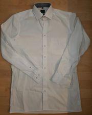 Olymp Herren-Langarmhemd Gr 38 Modern
