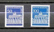 Briefmarken Berlin 1966 67 Brandenburger