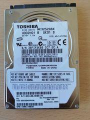 Festplatte 320 GB 2 5