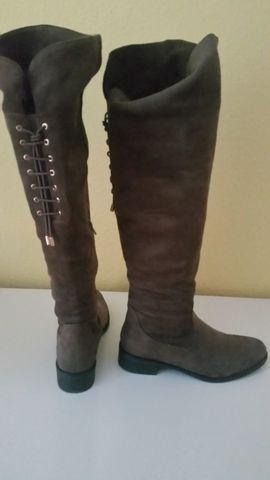 Schuhe, Stiefel - Overknee Stiefel
