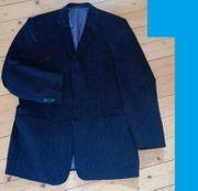 Jacket Baumwolle Kord Cord schwarz