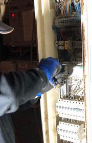 Elektro Mauer und Renovierungsarbeiten