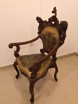 Bild 4 - Antike Barock Salon Garnitur - Diespeck