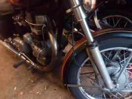 Sonstige Motorrad Specials - Royal Enfield 500 Bullet Rechtsschaltung