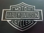 Aufkleber 3D Metall Harley Davidson