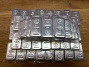 Silberbarren 1 Kilo eingeschweißt sehr