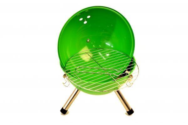 Tragbarer Mini-Grill - NEUWARE Kugelgrill Minikugelgrill