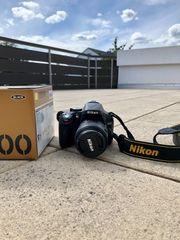 Spiegelreflexkamera Digitalkamera Nikon D5200 DSLR