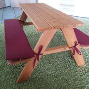 Sitzgruppe Kinder Holz TOP wie