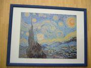 Kunstdruck Sternenhimmel van Gogh mit