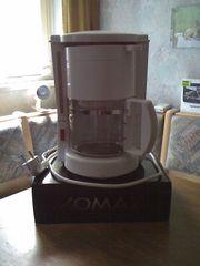 Kaffeemaschine in weiß 10 Tassen