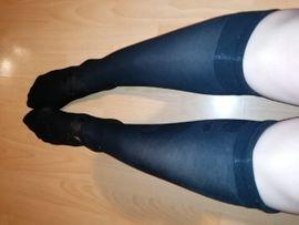 Getragene Wäsche - Sehr gern getragene Nylon - Strümpfe
