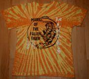 Cooles Tiger-Shirt - Größe 146 - Kurzarm -