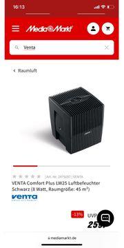VENTA Comfort Plus LW25 Luftbefeuchter