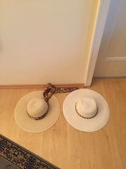 Damenhüte 2 Stück neu Sommer