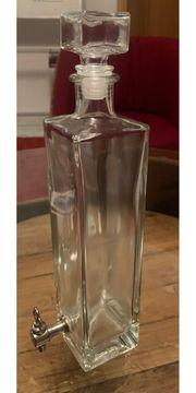 Schöne Flasche mit Auslaufhahn 500ml