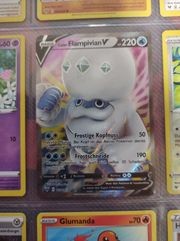 Flampivian V holo Pokemon Karte