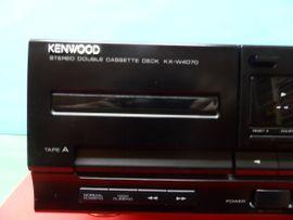 Tape-Deck, Walkman - Kenwood KX-W4070 MC - Doppel Cassetten