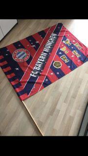Bayern München Fahne mit original