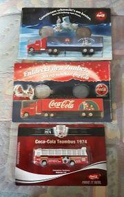 Neu VerpacktSammlungCoca Cola Truck Bus