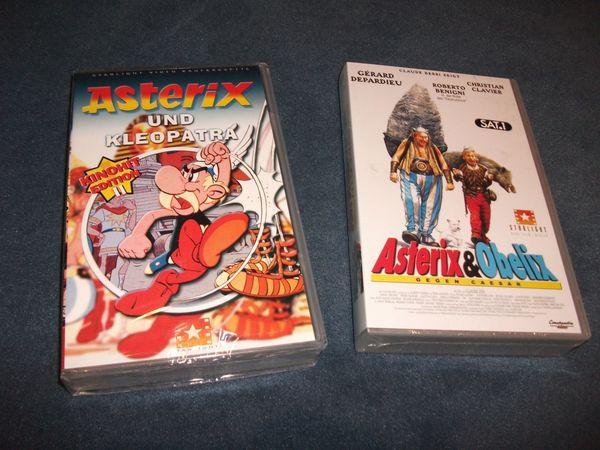 VHS Videos Asterix Obelix