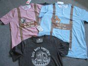 Herren - T-Shirt - Trachten - NEU - versch -