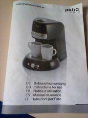 Kaffeepadmaschine Petra kpa 45
