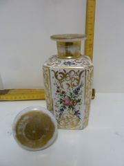 antike Teedose Karaffe aus Porzellan