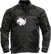 Textil Motorradjacke schwarz