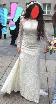 Meerjungenbrautkleid Abendkleid Brautkleid Standesamtkleid Standesamtkleid