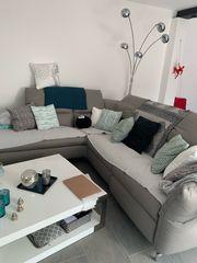 Echtleder-Couch -Wie NEU