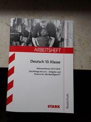 Arbeitsheft Deutsch 10 Klasse