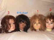 3 Austauschköpfe für eure Doll
