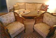 Chippendale-Couch-Garnitur