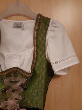 Damenbekleidung - Dirndl Gr 40 rosa grün