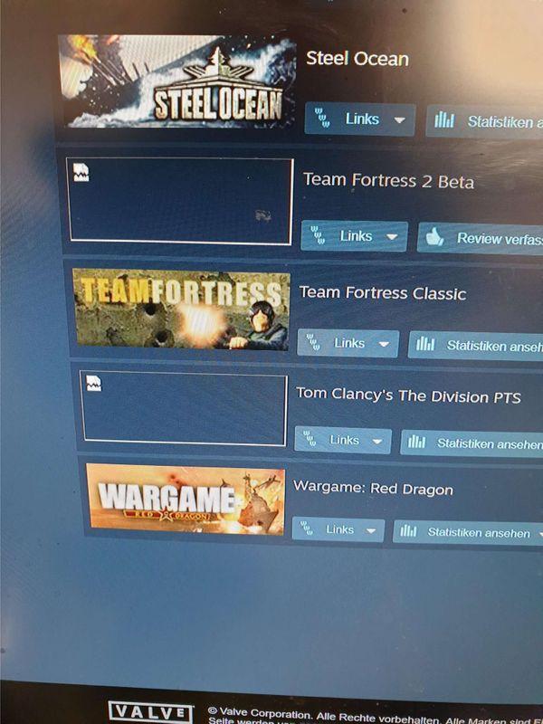 Steam Account mit 63 Spiele