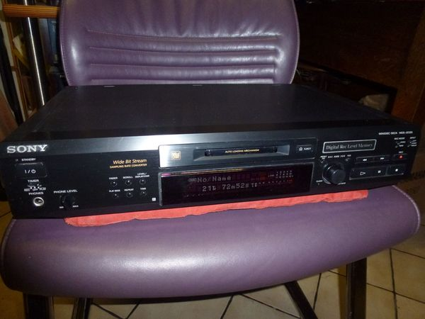 Sony MDS-JE 520 Mini-Disc Recorder Ferndedienung