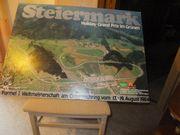Poster auf Holzplatte Österreichring 1984
