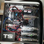 Mining Gaming Rig 6xGTX1050Ti Core