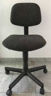 Dunkelbrauner Bürodrehstuhl zu verkaufen