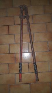 Bolzenschneider Werkzeug 2 Handbohrer und