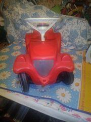 Bobby Car mit Flüsterrädern rot